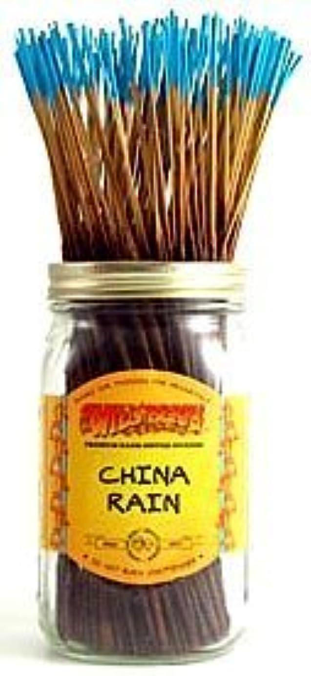 ガチョウピービッシュ微生物China Rain - 100 Wildberry Incense Sticks [並行輸入品]