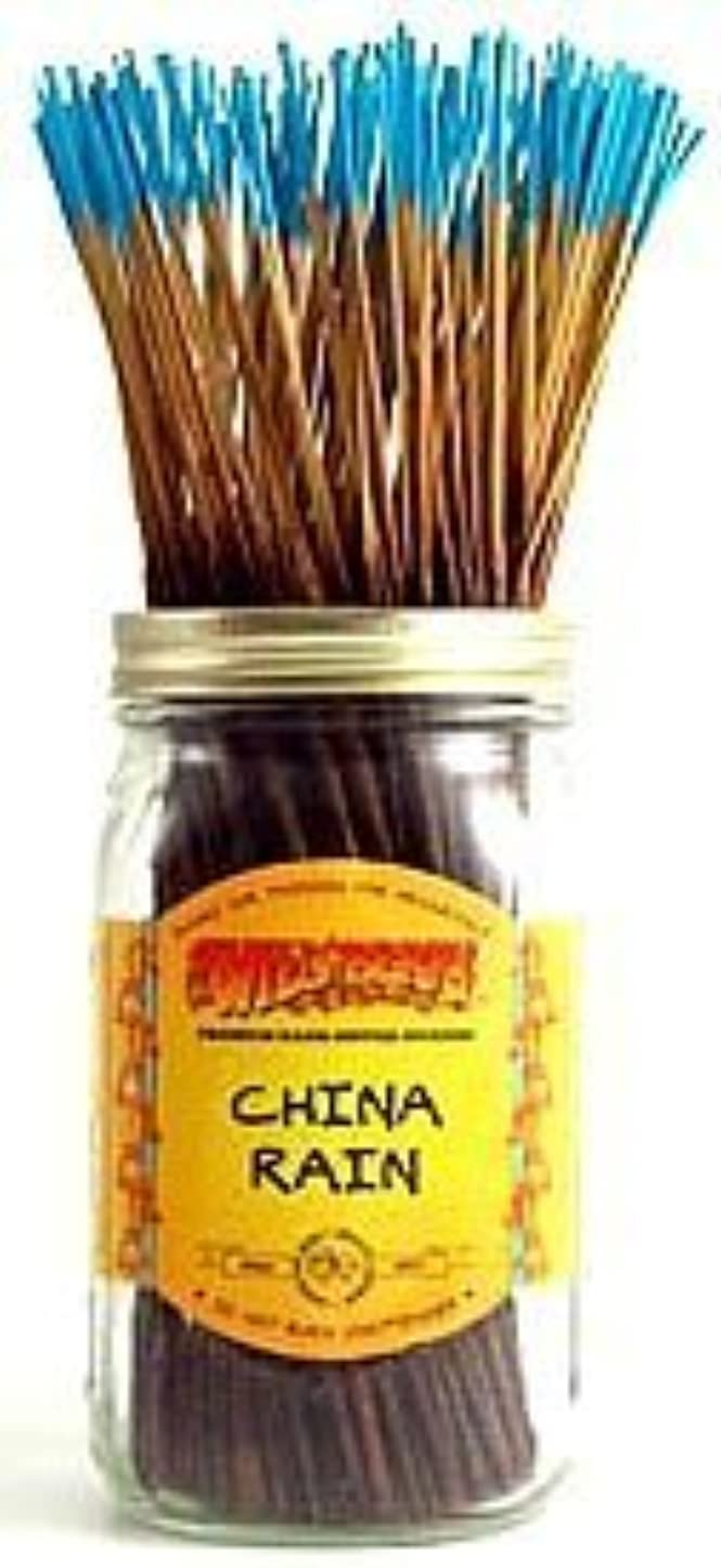 昇るアナリスト伝導China Rain - 100 Wildberry Incense Sticks [並行輸入品]