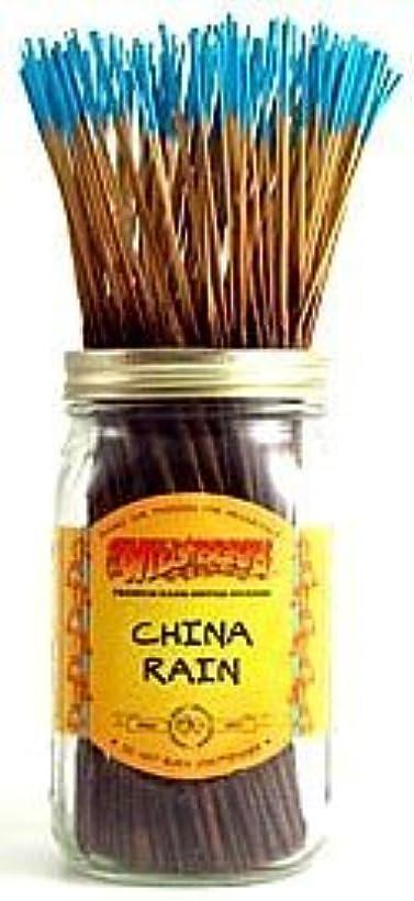 神秘追い越す勤勉China Rain - 100 Wildberry Incense Sticks [並行輸入品]