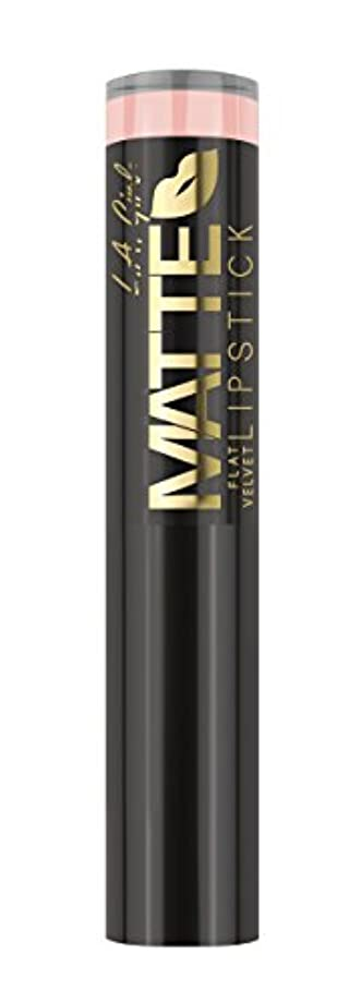 L.A. GIRL Matte Flat Velvet Lipstick Ooh La La! (並行輸入品)