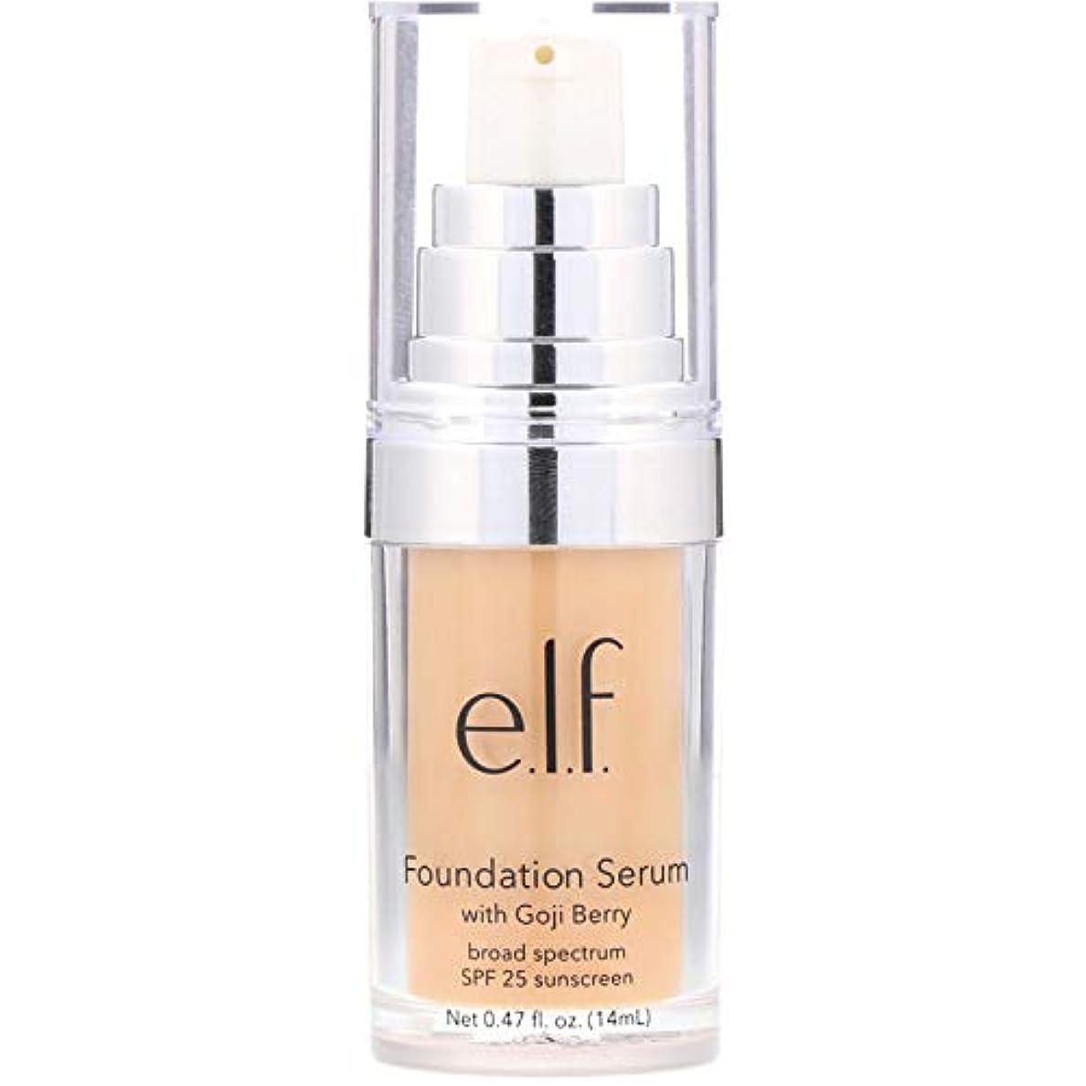 湖国内の前にe.l.f. Beautifully Bare Foundation Serum - Light / Medium (並行輸入品)