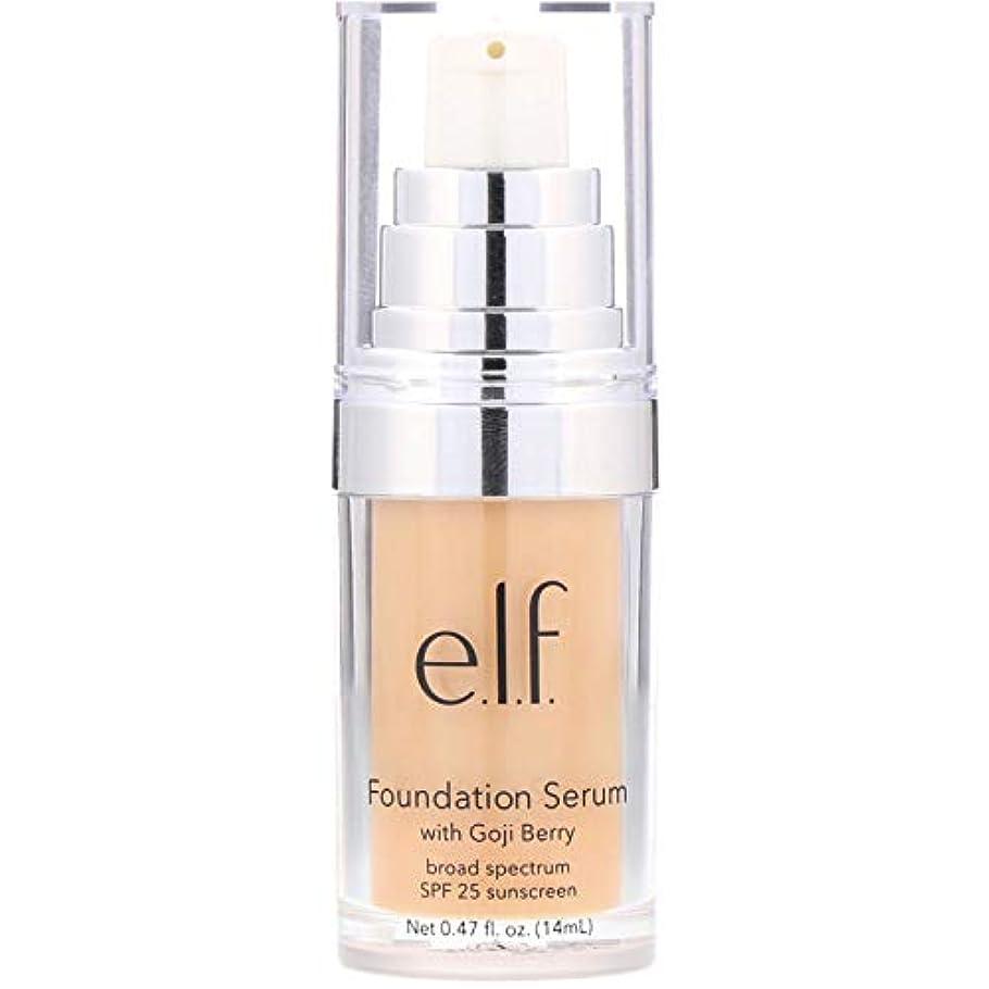 くるみオピエート宿題e.l.f. Beautifully Bare Foundation Serum - Light / Medium (並行輸入品)