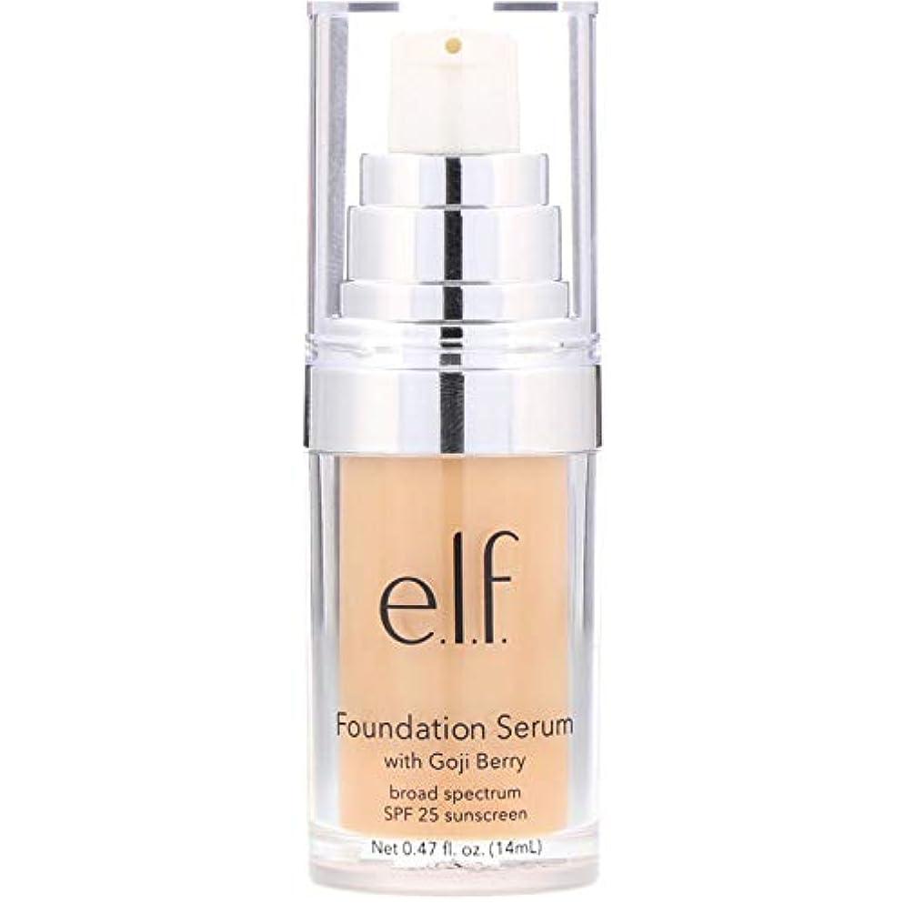 廃棄鍔オーストラリア人e.l.f. Beautifully Bare Foundation Serum - Light / Medium (並行輸入品)
