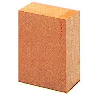 木彫材料 8.5×6×3.5寸 桧 面打ち用 4号