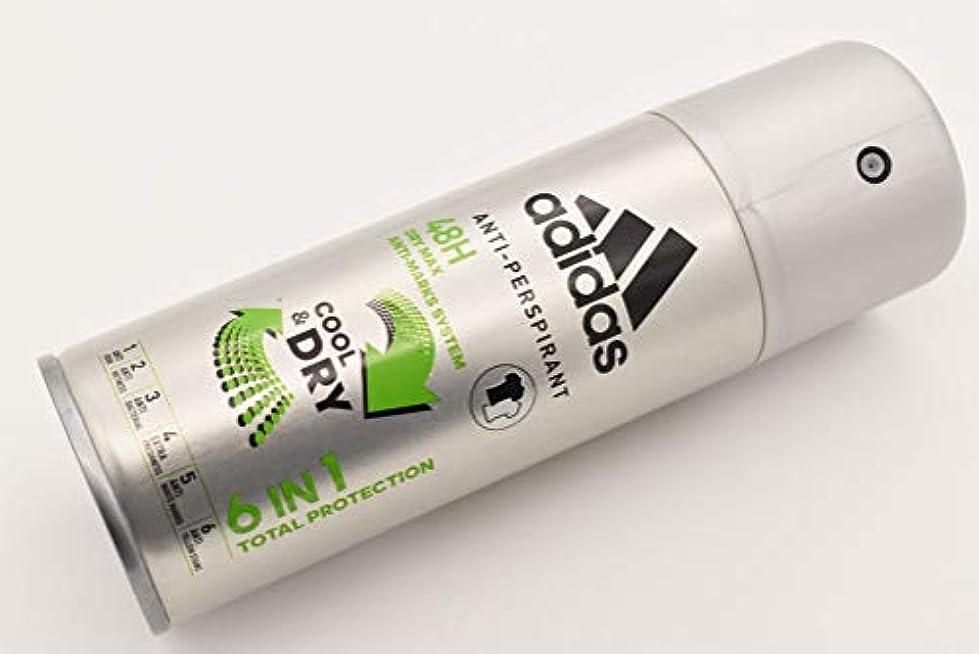最小化するいうクリーナーadidas DEO BODY SPRAY 150ml 6in1 COOL&DRY 48H アディダス デオドラント ボディースプレー 150ml 6in1 クール&ドライ 制汗剤 48時間持続 日本未発売 並行輸入