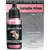 ScaleColor - Acrylic paint - METAL'N ALCHEMY Tourmaline - SC-76 17ml bottle
