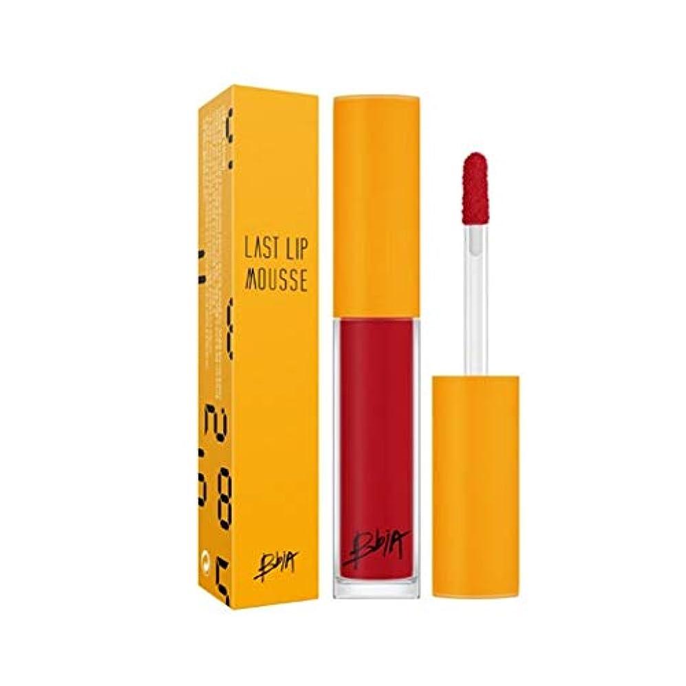 ジャグリングモートきしむピアラストリップムース 5カラー韓国コスメ、Bbia Last Lip Mousse 5 Colors Korean Cosmetics [並行輸入品] (3535 red)