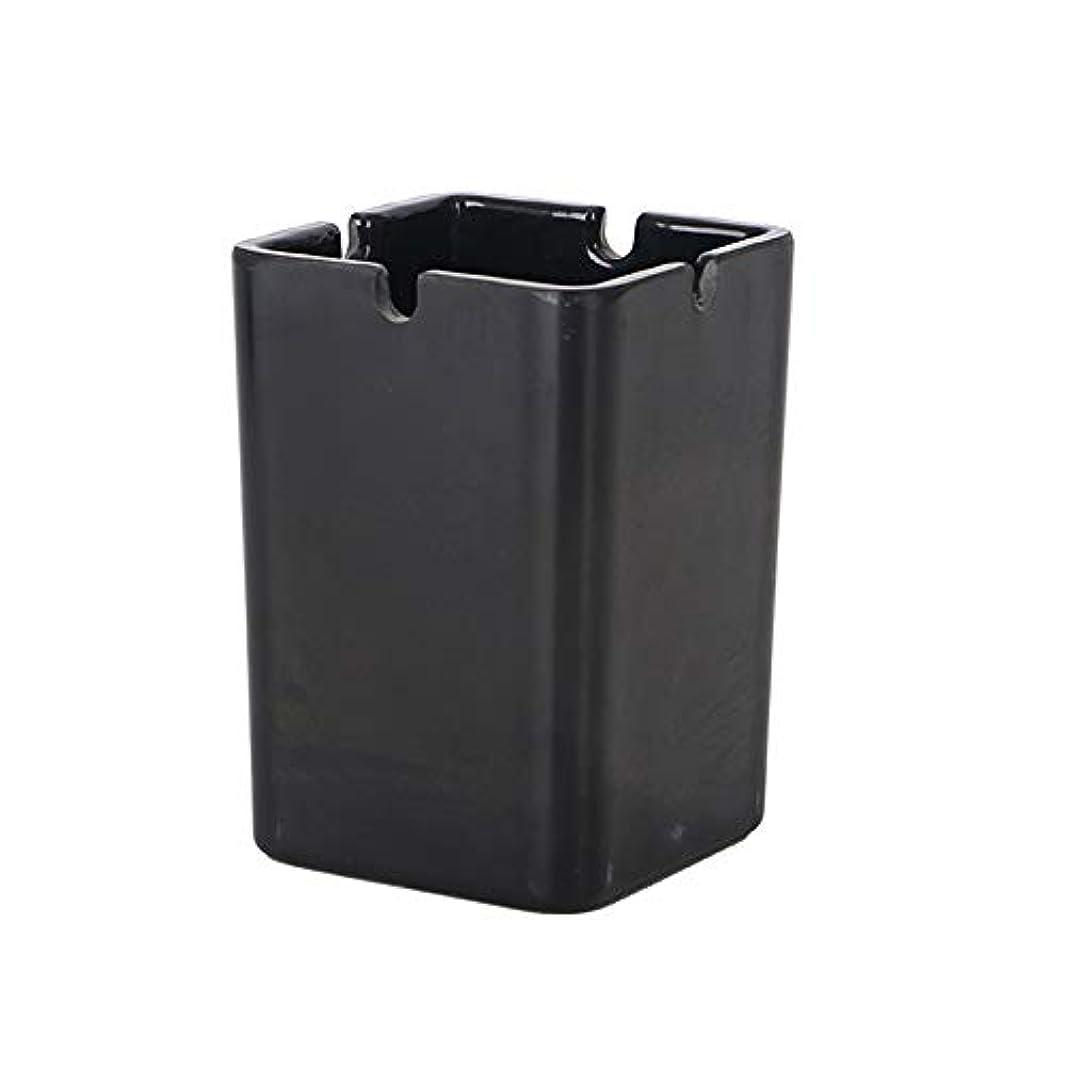 ニコチン想像する解き明かす灰皿ホームリビングルーム寝室灰皿を使用してミニ小さな灰皿、長寿命耐熱材料コンピュータテーブル (Size : M)