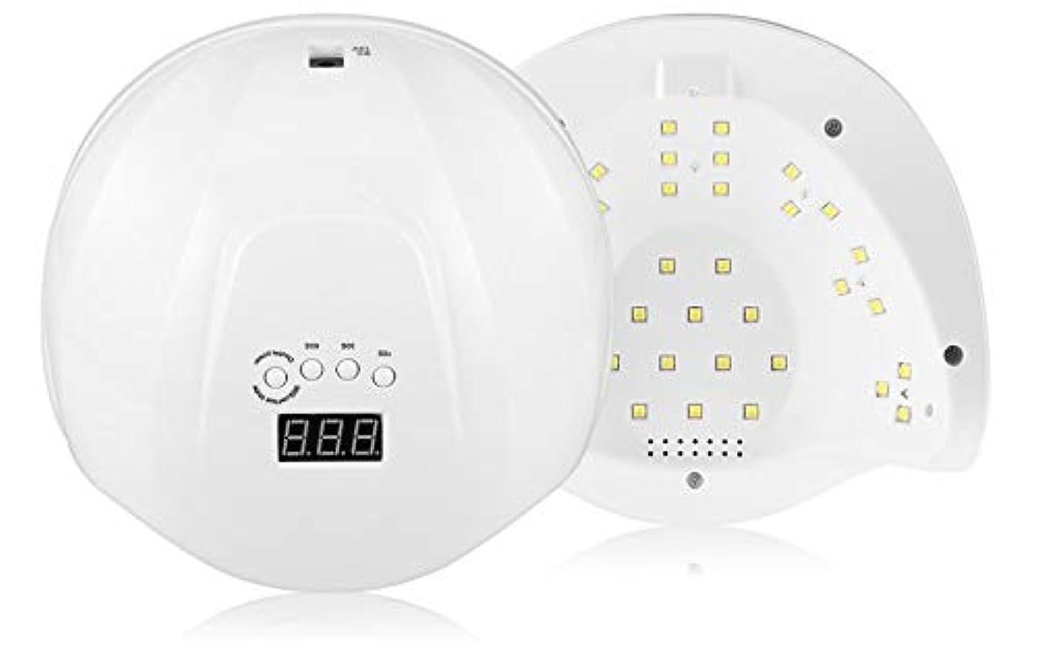 語箱意気込みA AcreatspaceプロフェッショナルジェルポリッシュLEDネイルドライヤーランプモーション赤外線センサー36LEDs LED/UV硬化ランプ付きLCDスクリーンタイマー設定