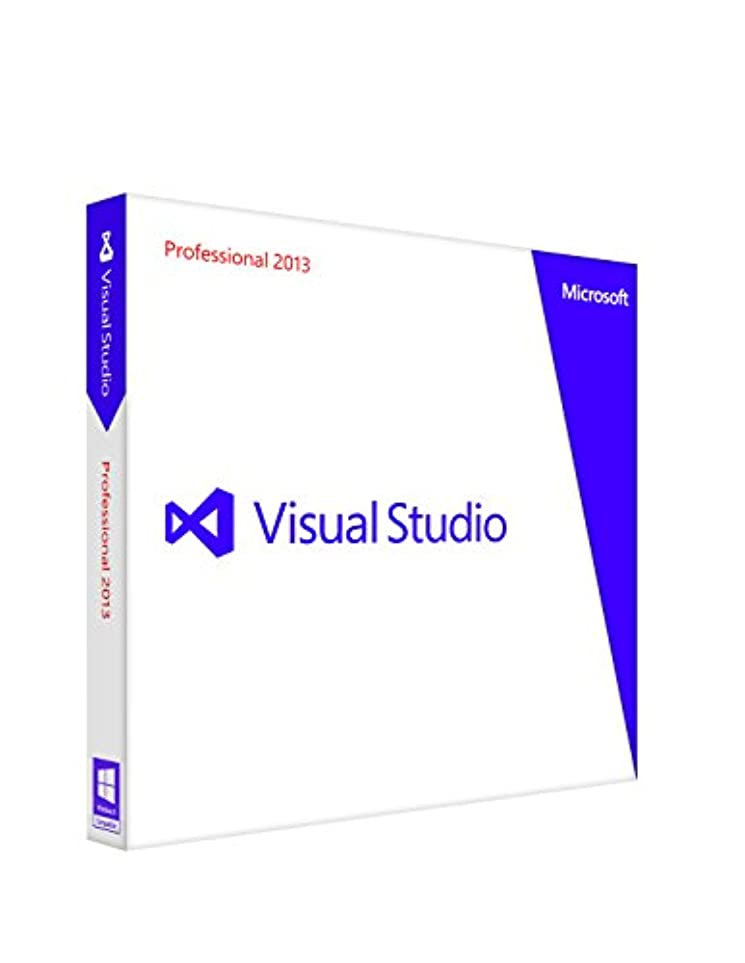 振幅ステージエチケットMicrosoft Visual Studio Professional 2013  通常版
