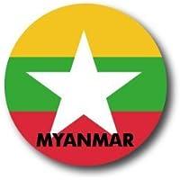 CBFG-053 MYANMAR ミャンマー 国旗缶バッジ WORLD FLAG EDITION 缶バッジ