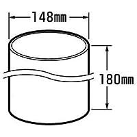 トヨトミ部品:外筒/11001602石油ストーブRB-25F用