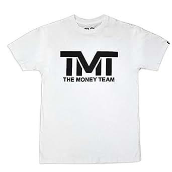 (ザ・マネーチーム) THE MONEY TEAM TMT 正規輸入品 MS104-2WK (S エスサイズ) Tシャツ 白ベース×黒 フロイド・メイウェザー・ジュニアコレクション Tシャツ メンズ 半袖 ボクシング アメリカ