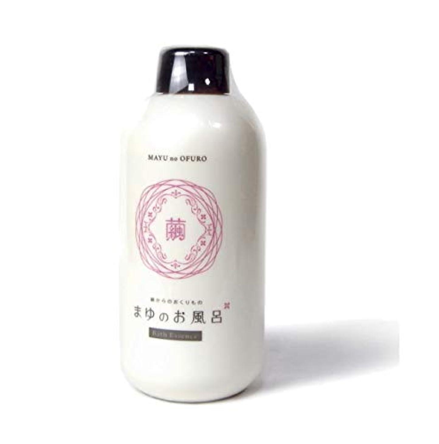 である掻く紳士きぬもよふ まゆシリーズ まゆのお風呂ボトル 480ml(約20回分)