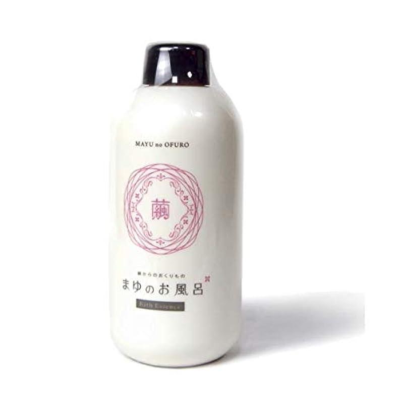 矢リフレッシュショートカットきぬもよふ まゆシリーズ まゆのお風呂ボトル 480ml(約20回分)