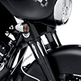 ハーレーダビッドソン/Harley-Davidson エッジカット・アッパーフォークスライダーカバー/ 45600006■ハーレーパーツ■Chassis Trim ? Front End /TOURING & TRIKE