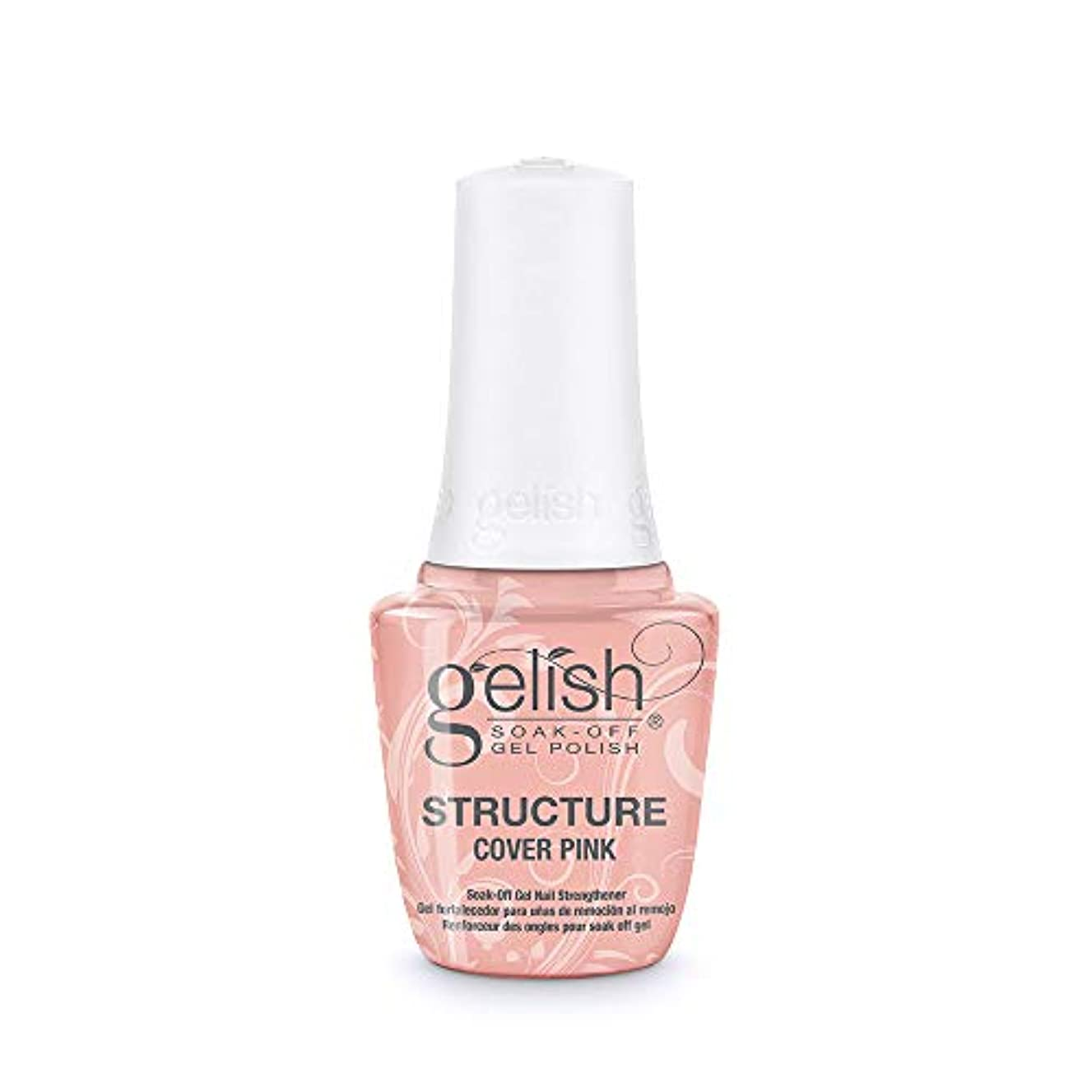 タンザニア逆に揮発性Gelish Brush-On Structure Gel - Cover Pink - 15 ml / 0.5 oz