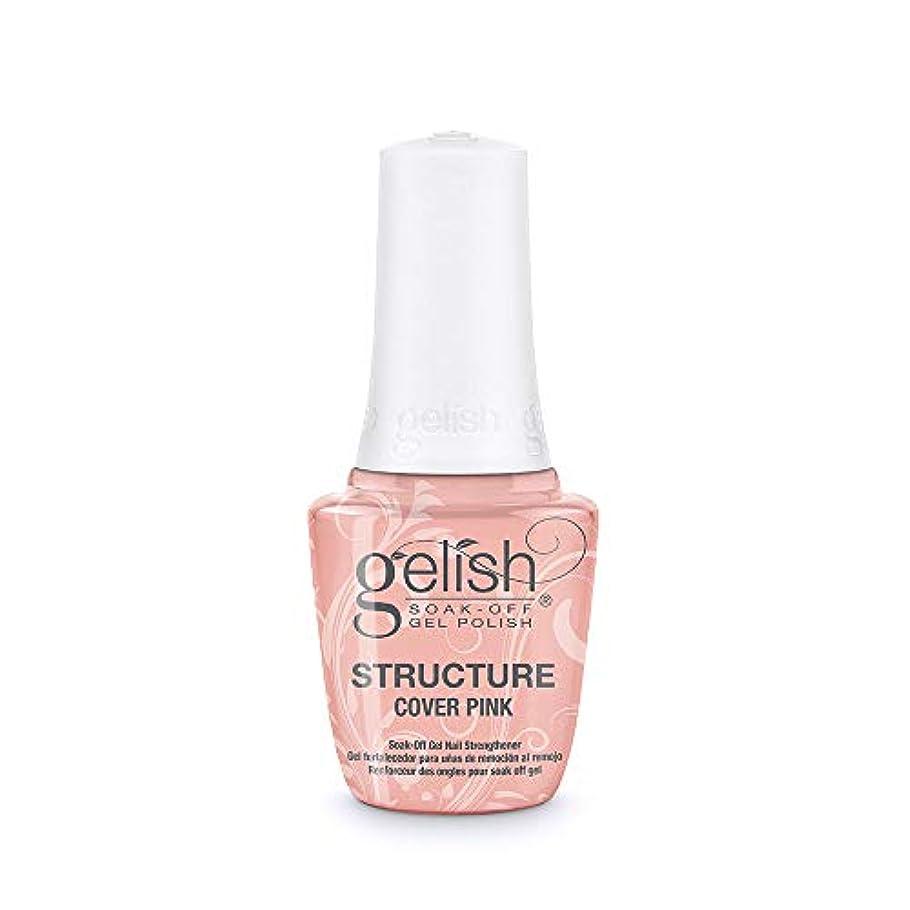 蚊摂動ショートGelish Brush-On Structure Gel - Cover Pink - 15 ml / 0.5 oz