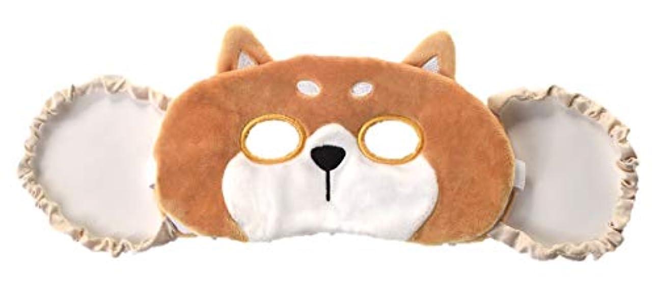 侵入ガードイブニングほんやら堂 ながら HOT&COOL アイピロー 柴犬 サイズ:約H22.5 W11 D2.5 RLK38315