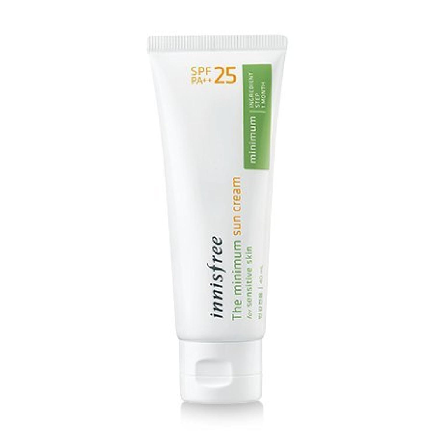 逆さまに挑発する年金[innisfree(イニスフリー)] The minimum sun cream SPF25 PA++ 40ml ザ·ミニマム サンクリーム SPF25PA++[並行輸入品][海外直送品]