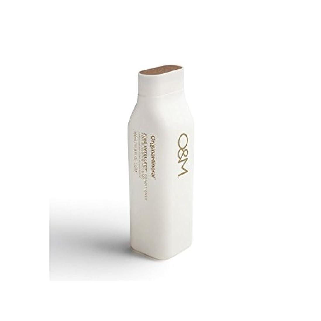枝配管工ピケオリジナル&ミネラル細かい知性コンディショナー(350ミリリットル) x2 - Original & Mineral Fine Intellect Conditioner (350ml) (Pack of 2) [並行輸入品]