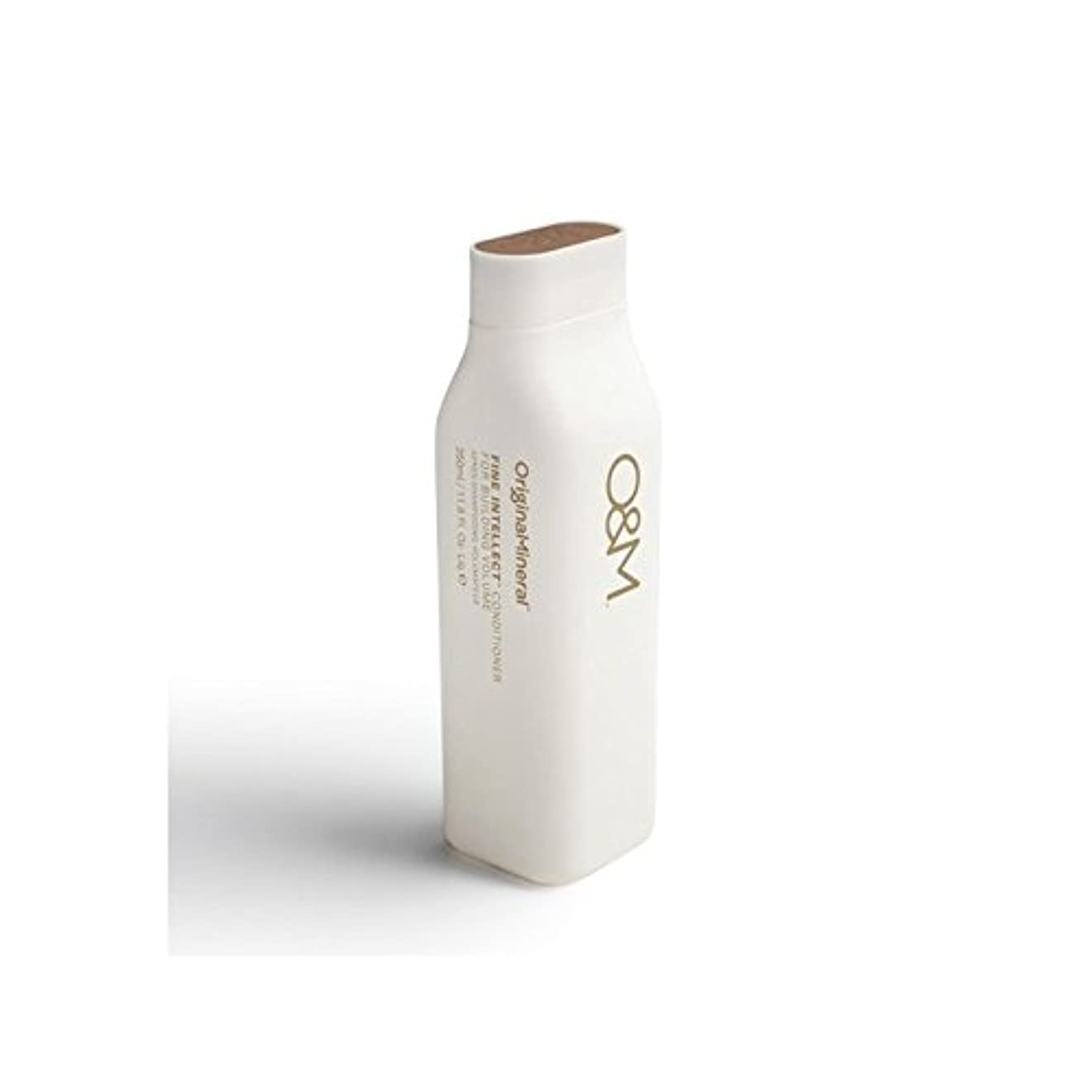 読み書きのできないフィクション阻害するOriginal & Mineral Fine Intellect Conditioner (350ml) (Pack of 6) - オリジナル&ミネラル細かい知性コンディショナー(350ミリリットル) x6 [並行輸入品]