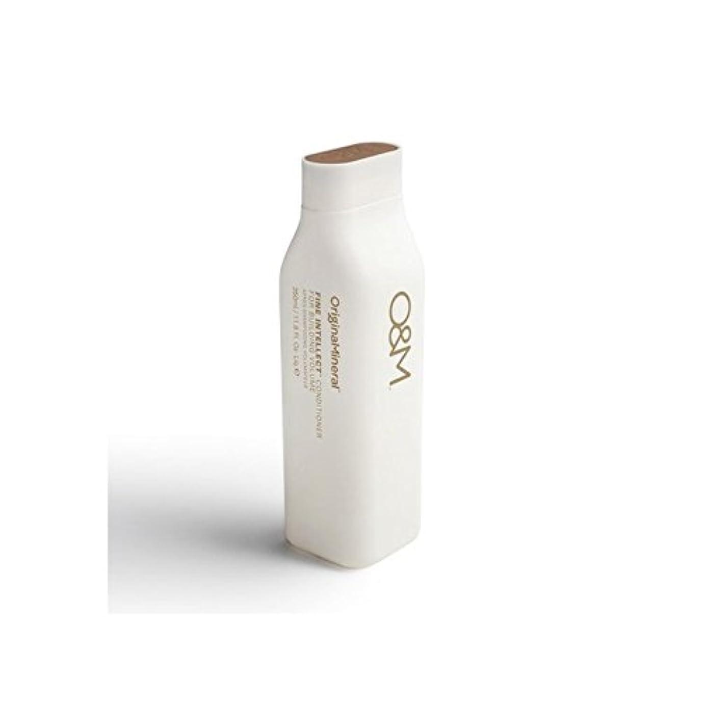 にもかかわらず噴出する批判Original & Mineral Fine Intellect Conditioner (350ml) (Pack of 6) - オリジナル&ミネラル細かい知性コンディショナー(350ミリリットル) x6 [並行輸入品]