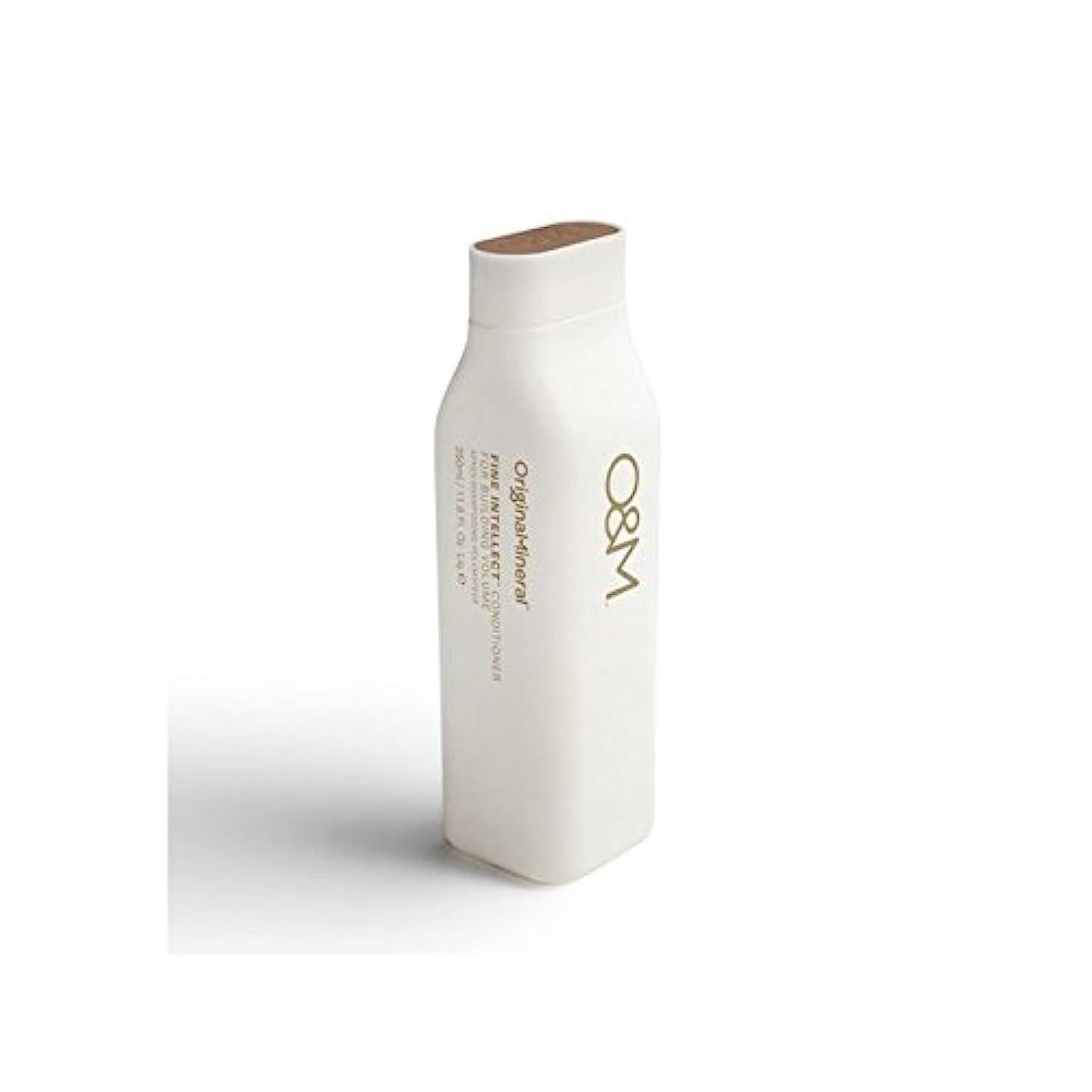 妨げる熟達に変わるOriginal & Mineral Fine Intellect Conditioner (350ml) (Pack of 6) - オリジナル&ミネラル細かい知性コンディショナー(350ミリリットル) x6 [並行輸入品]