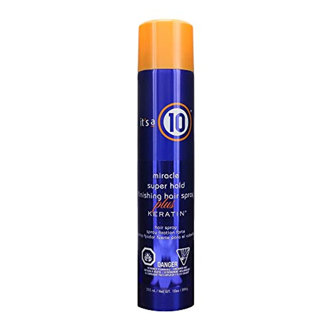 耐久スーパー公式by It's a 10 MIRACLE SUPER HOLD FINISHING SPRAY PLUS KERATIN 10 OZ by ITS A 10