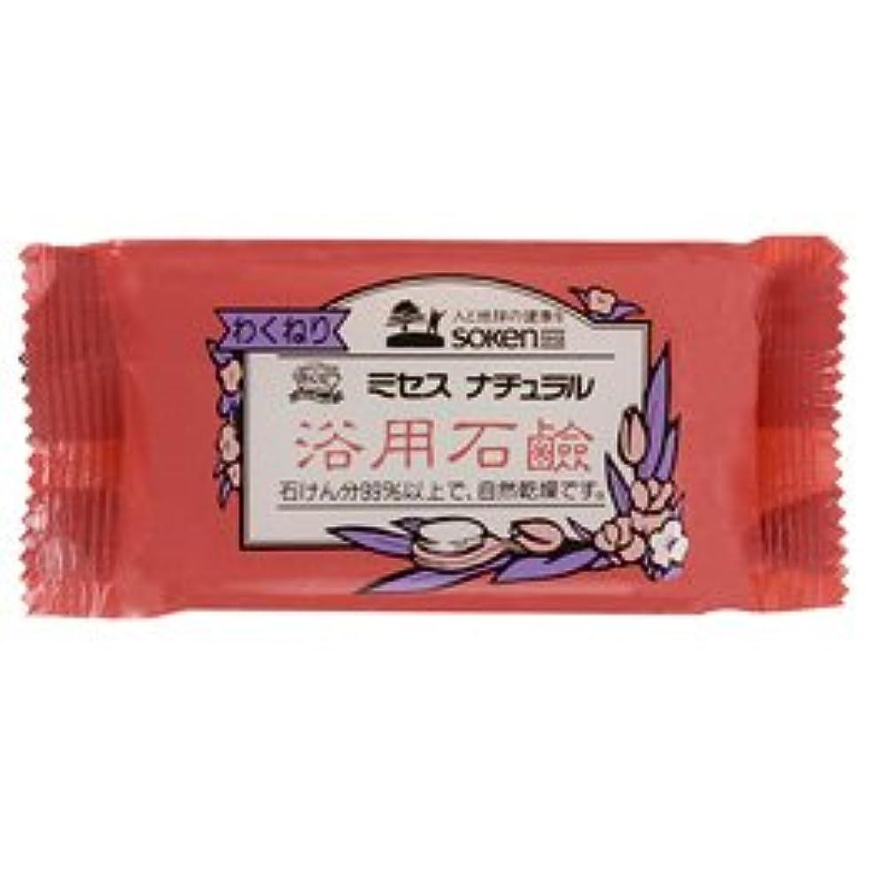大洪水勤勉歩行者創健社 ミセスナチュラル 浴用石鹸 110g ケース(120個入)