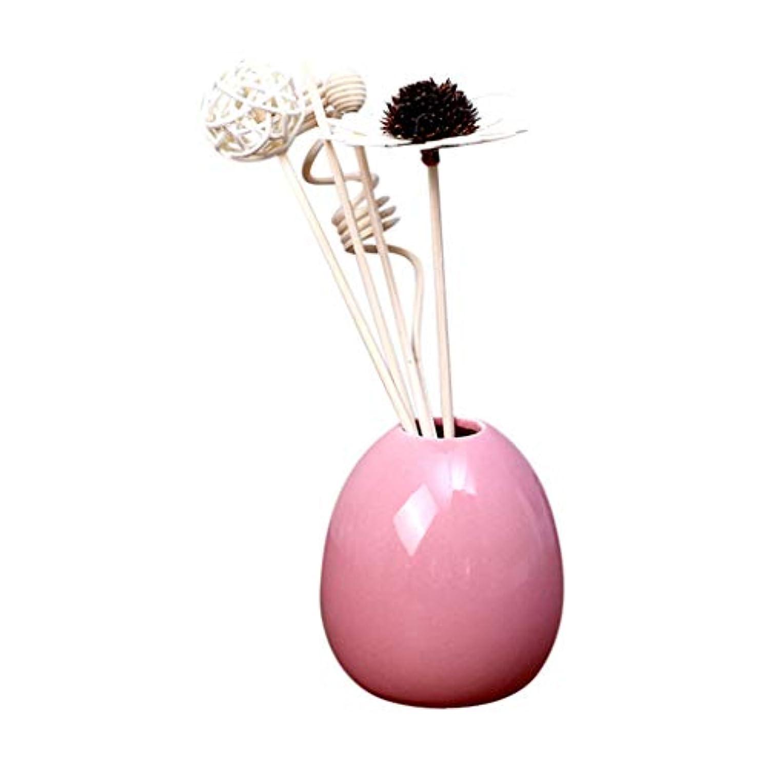 飽和する連続した凍るLazayyii エッセンシャルオイル セット 家庭用 香 寝室バスルームルーム 香水 消臭 (ピンク)