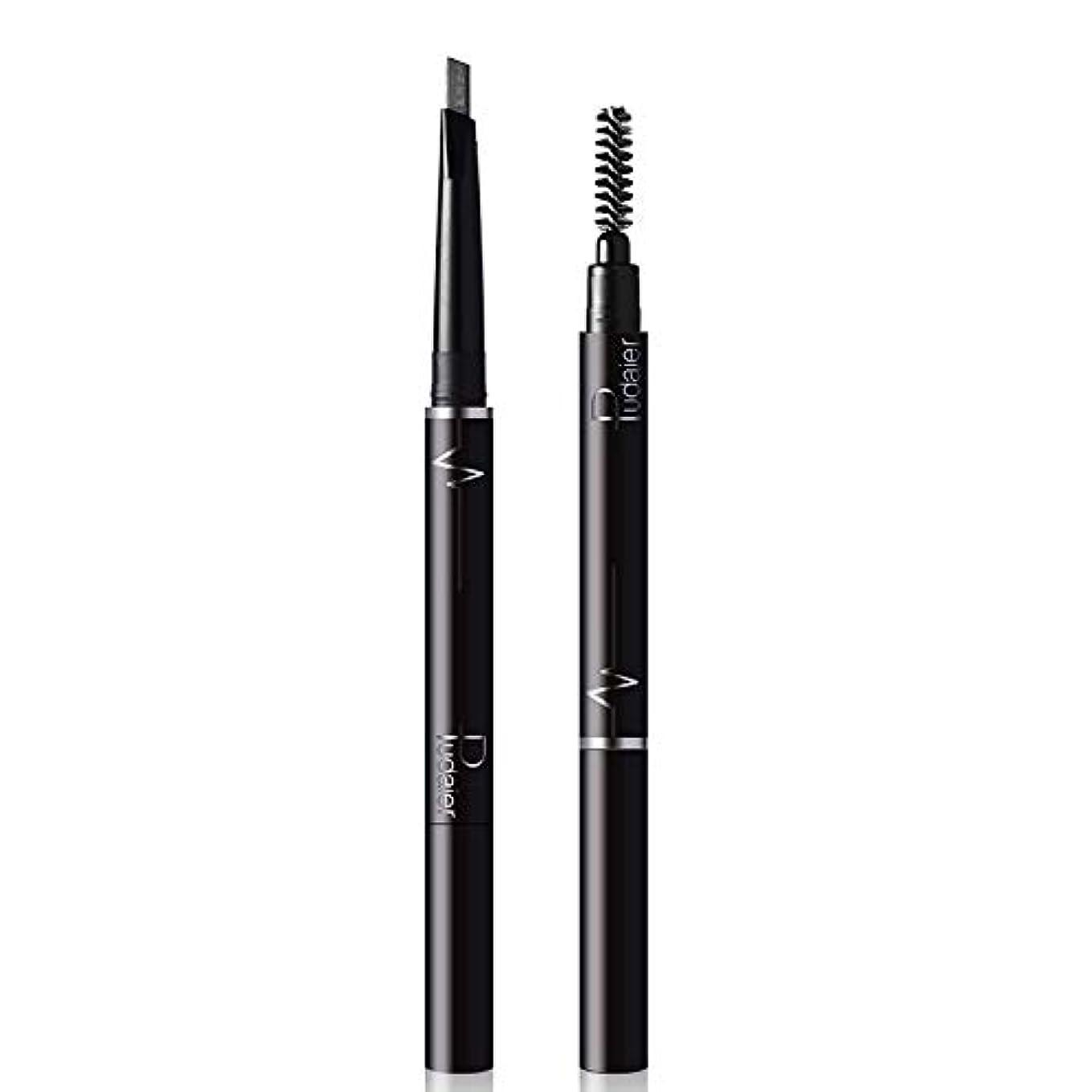Symboat アイブロウペンシル アイラインペン メイクアップペン 防水 防汗 長持ち メイクアップツール