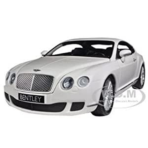 2008 Bentley Continental GT White 1:18 Diecast Car Model by Minichamps サイズ : 1/18 [並行輸入品]