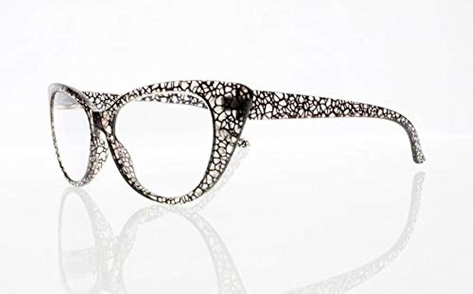 ルーキー置くためにパック容量FidgetGear 女性レトロビンテージ猫目亀9色老眼鏡リーダー+ 1.0?+ 4.0 グレー