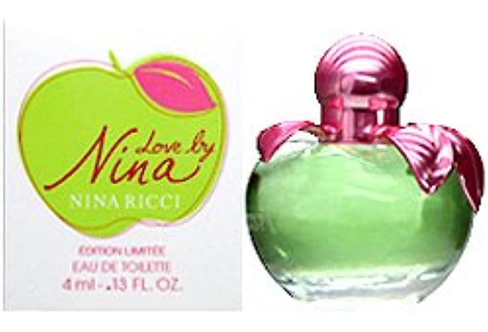 分布以降垂直ニナリッチ ラブバイニナ ミニ香水 EDT4ml NINA RICCI [並行輸入品]