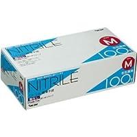 (まとめ) 川西工業 ニトリル極薄手袋 粉なし M #2041 1箱(100枚) 【×5セット】 ds-1574435