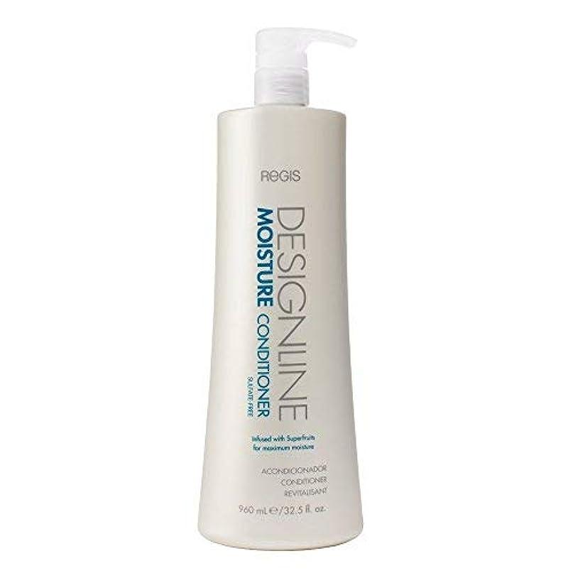予言する主人落ちたDESIGNLINE 湿気 コンディショナー、Regis -サルフェートなし フォーミュラは髪を保湿して清潔に保ち、髪の色を安全に保ちます。 32.5 オンス