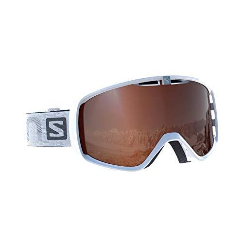 サロモン(SALOMON) スキー スノーボード ゴーグル ユニセックス AKSIUM ACCESS White/T.Orange L39082800