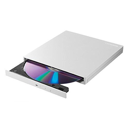 I-O DATA DVDドライブ mac 外付け ポータブル USB3.0/バスパワー対応 パールホワイト EX-DVD04W