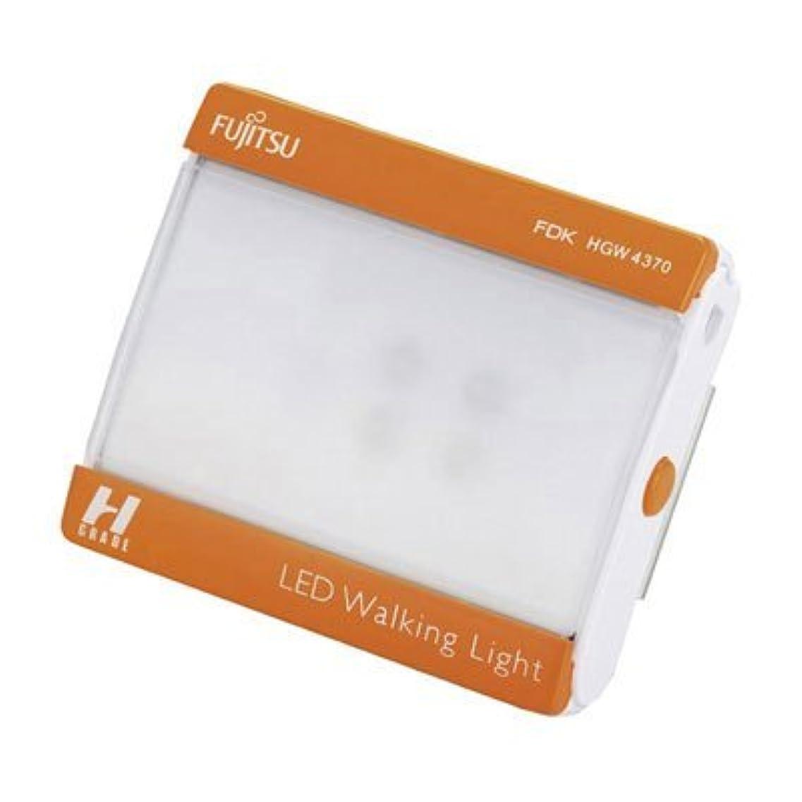 信頼できる発生器子供達FDK(エフディケイ) LEDウォーキングライト HGW4370F-O オレンジ