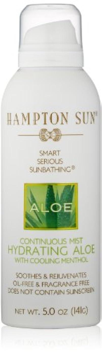 マウスピース完全に乾く確保するHampton Sun - Hydrating Aloe Continuous Mist (5.0 oz.)