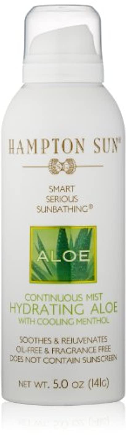 促進するサロン物足りないHampton Sun - Hydrating Aloe Continuous Mist (5.0 oz.)