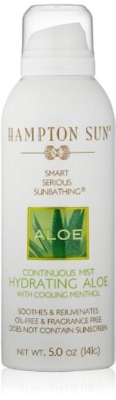 酔った敬意を表するのためHampton Sun - Hydrating Aloe Continuous Mist (5.0 oz.)