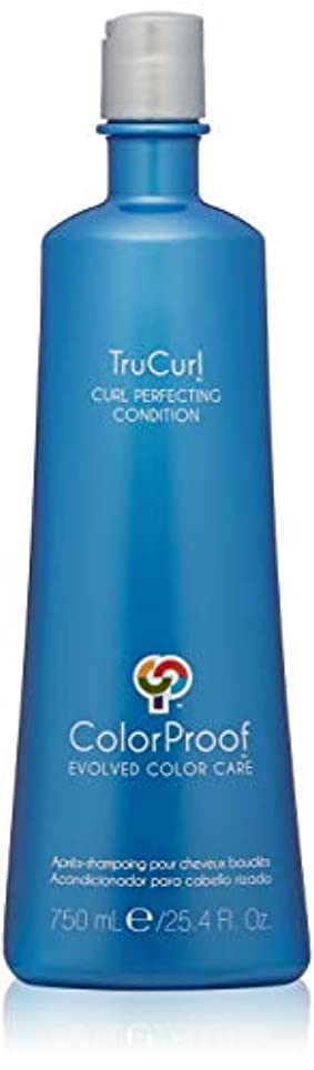 インチ海洋のスポーツマンColorProof Trucurl Curl Perfecting Conditioner - 25.4 oz by Colorproof