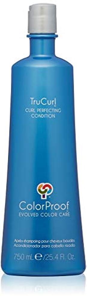 ピア二週間市町村ColorProof Trucurl Curl Perfecting Conditioner - 25.4 oz by Colorproof