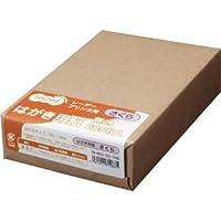 (まとめ) TANOSEE レーザープリンター用 はがきサイズ用紙 さくら 1冊(200枚) 【×10セット】