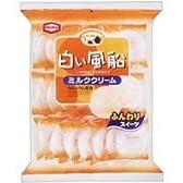 亀田製菓 白い風船 ミルククリーム 21枚