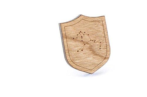 ケンタウルス座ラペルピン、木製ピン