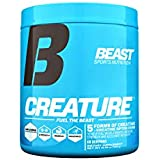 Beast Sports Nutrition (Creature Creatine Complex, Fuel Muscle Growth), 60 Servings, Unflavored, 300 Grams