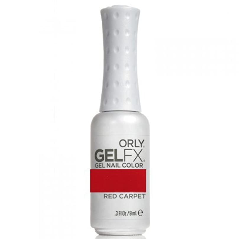 合理化鋼矢ORLY(オーリー) ジェル FX ネイルラッカー 9ml Red Carpet